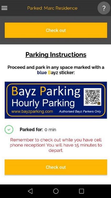 Bayz Parking screenshot-4