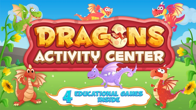 Dragons Activity Games Lite screenshot-0