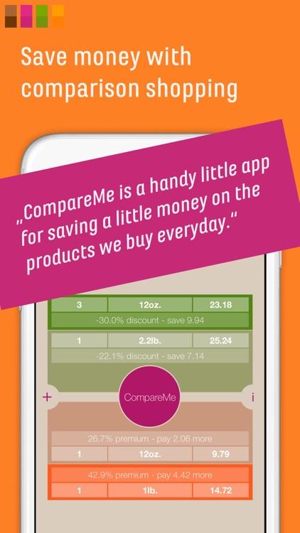 CompareMe Shopping Calculator screenshot-0