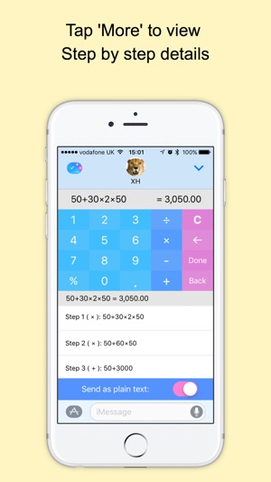Xmart Calculator Pro Screenshot