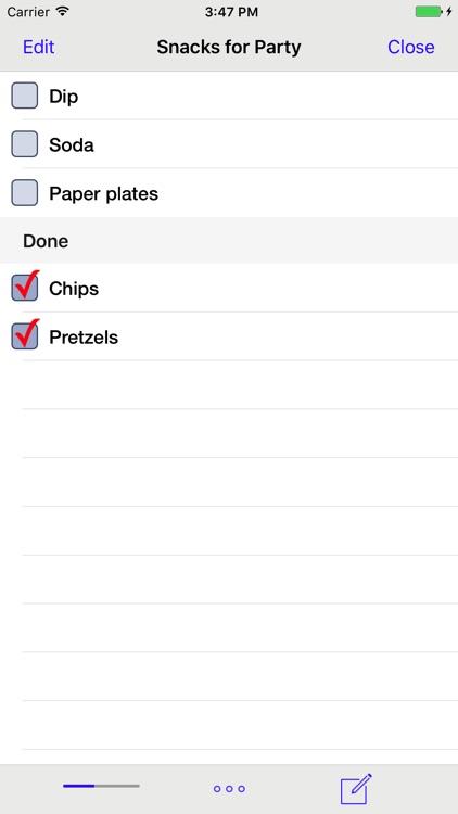 Errands To-Do List screenshot-4