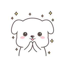 Cute Dog-Emoticon For iMessage