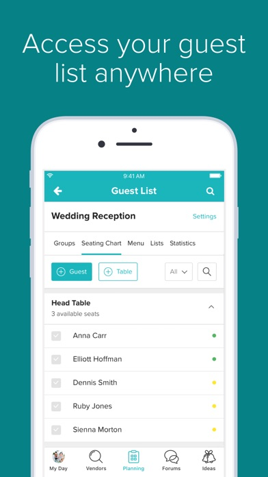 Wedding Planner By Weddingwire Screenshot