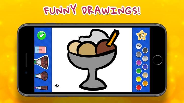Coloring Your Yummies screenshot-0