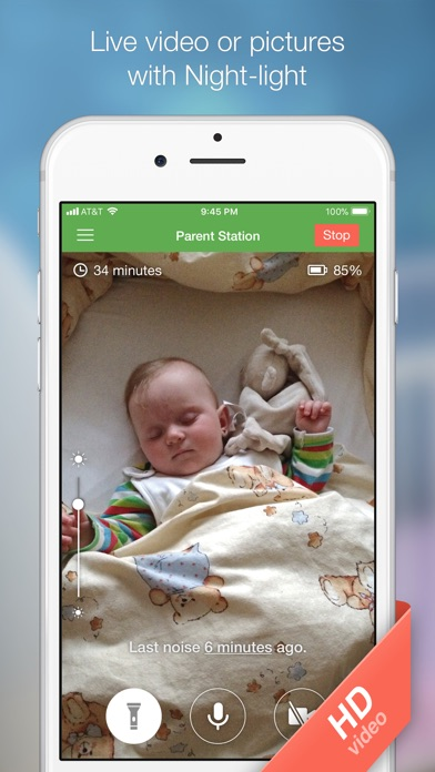 Baby Monitor 3G Screenshots
