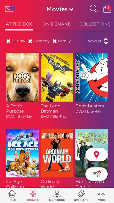 Redbox for Windows