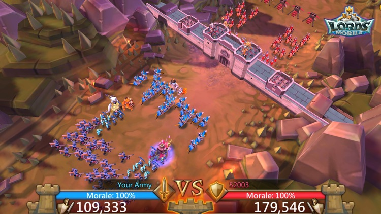 Lords Mobile: War Kingdom screenshot-5