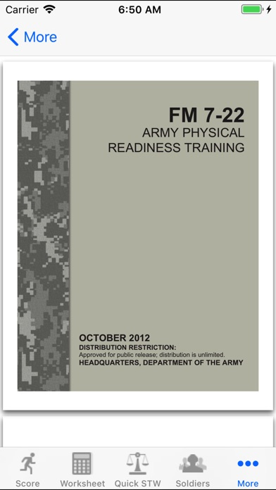 Army Fitness Apft Calculator review screenshots