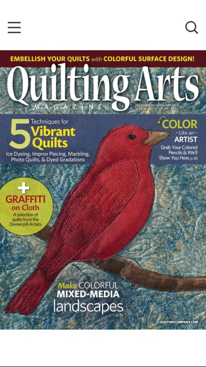 Quilting Arts Magazine