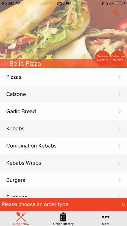 Bella Pizza Brimington By Touch2success