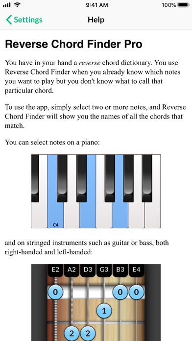Reverse Chord Finder Pro By Ghostdust Pty Ltd Music Audio