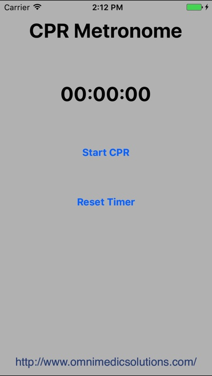 CPR Metronome