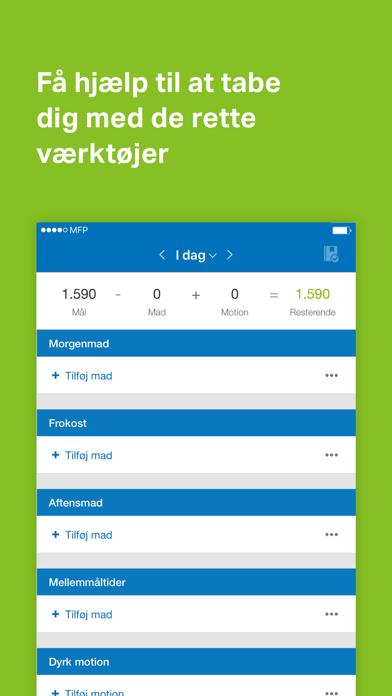 Screenshot for MyFitnessPal in Denmark App Store