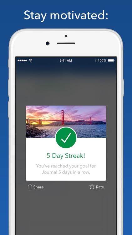 Strides Habit Tracker screenshot-3