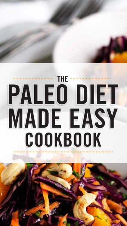 Paleo Diet Recipes Made Easy screenshot-0