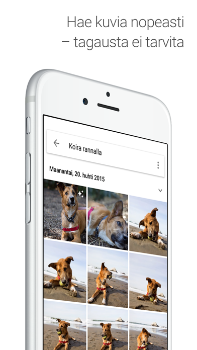 Screenshot for Google Kuvat in Finland App Store