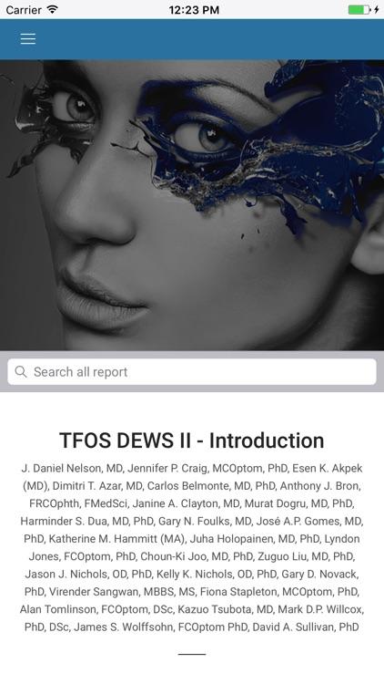 TFOS DEWS II REPORT