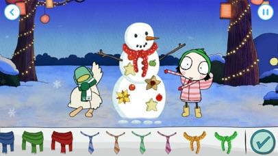 Sarah & Duck: Build a Snowman screenshot 3