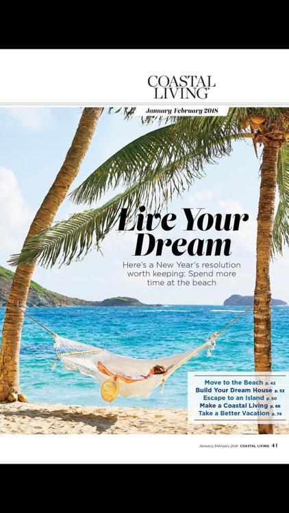 COASTAL LIVING Magazine screenshot-3