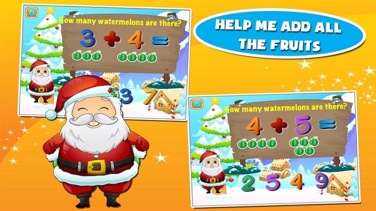 Santa Preschool Math Games