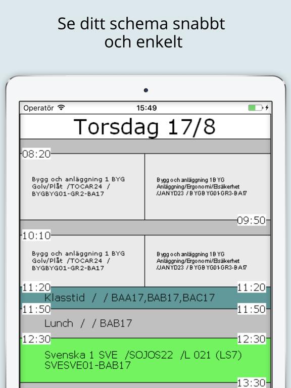 SchemaAppen screenshot 5