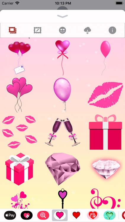 Pink Love • Emoji and stickers screenshot-8