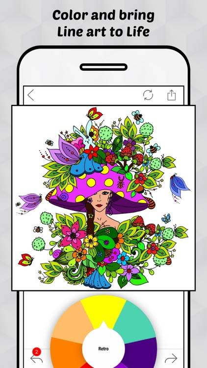 Line Art - Coloring Pages for Everyone