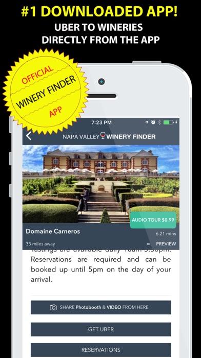 Napa Valley Winery Finder REAL Screenshot