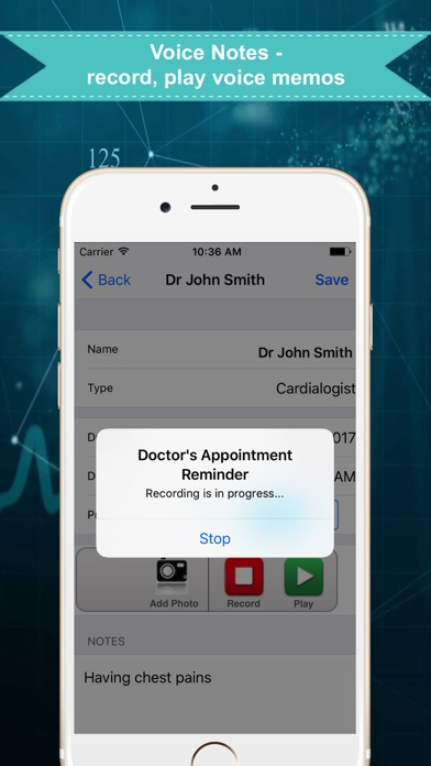 Doctors Appointment Reminder review screenshots