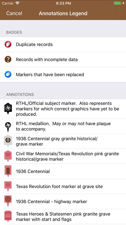 Texas Historical Marker Guide screenshot-2
