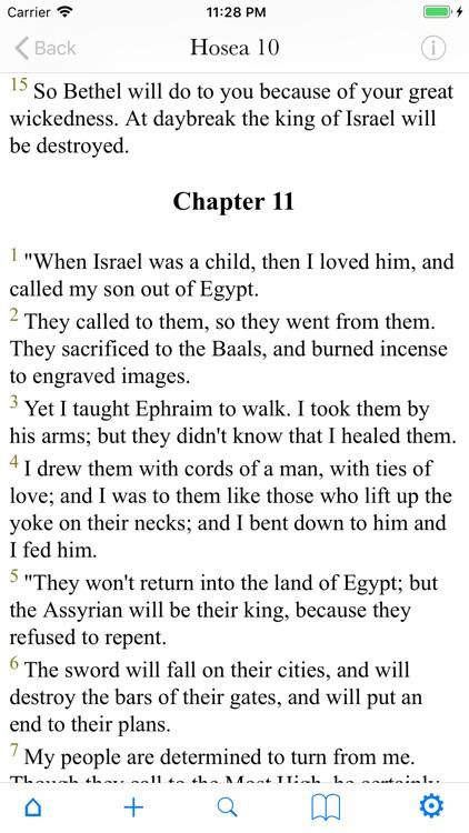 Bible (multiversion) screenshot-8