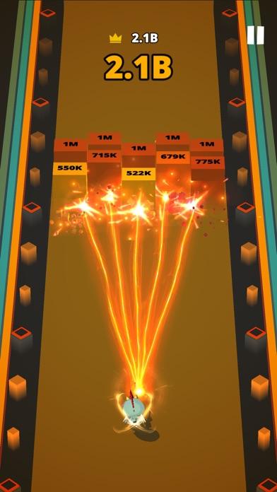 Screenshot for Fire Gun: Brick Breaker in United States App Store