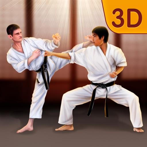 Shotokan Karate Ninja Fighting Icon