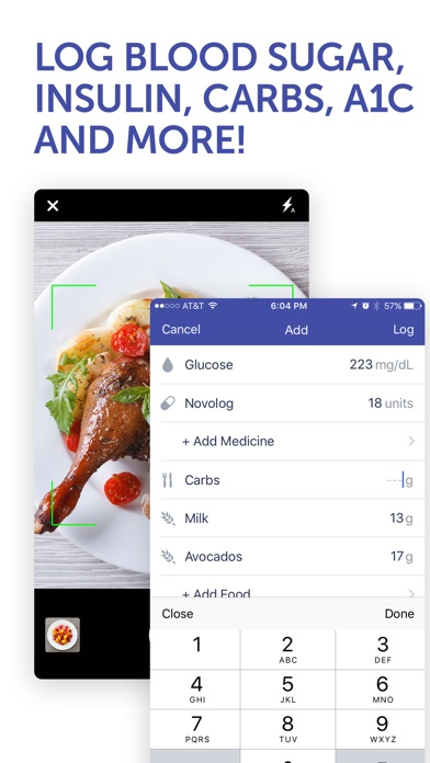 Glucose Buddy Diabetes Tracker review screenshots