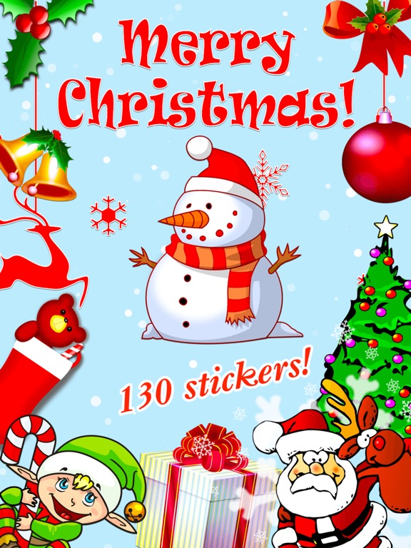 screenshot 1 for merry christmas stickers - Merry Christmas Stickers