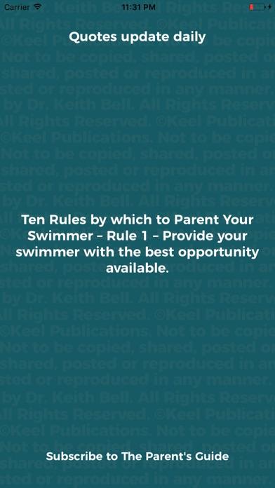 Screenshot for Swim Parent in Brazil App Store