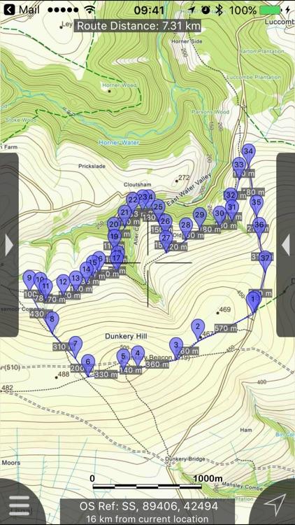 Exmoor Maps Offline screenshot-0