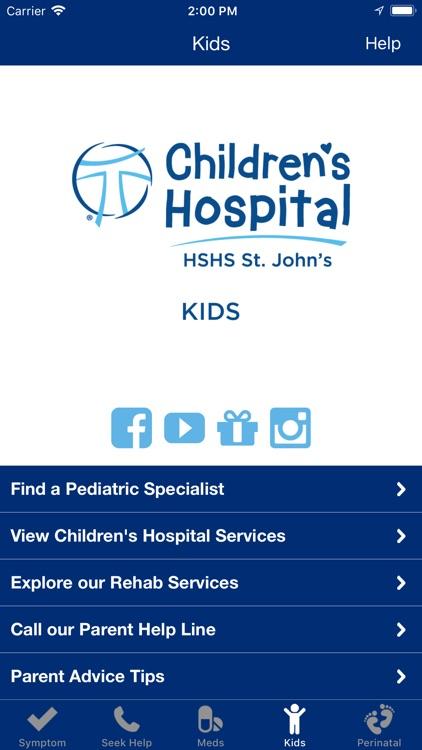 Family Care - HSHS St. John's screenshot-3