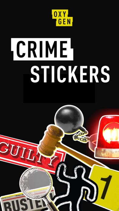 Oxygen Crime Stickers screenshot 1