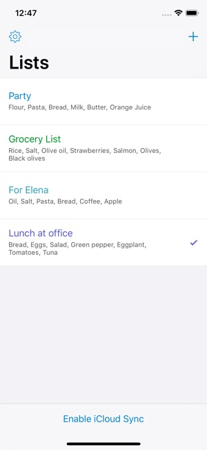 Shoppylist - Shopping List on the App Store