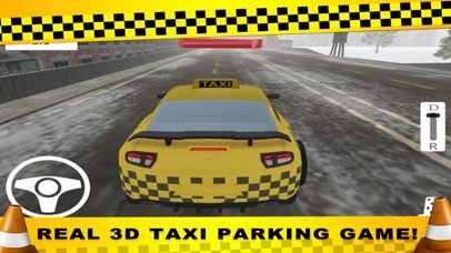 Parking CITY TAXI - Driver Sim screenshot 2