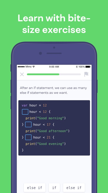 Mimo: Learn to Code screenshot-4