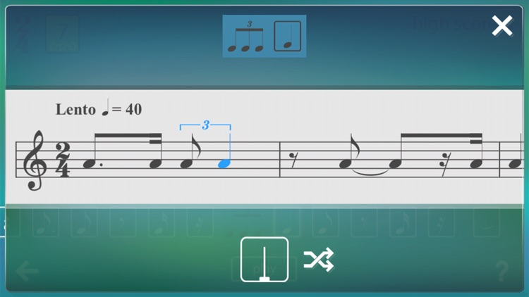 Musical Meter 3: sight-reading screenshot-4