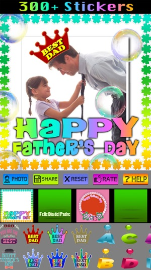 Happy Father\'s Day Frames on the App Store