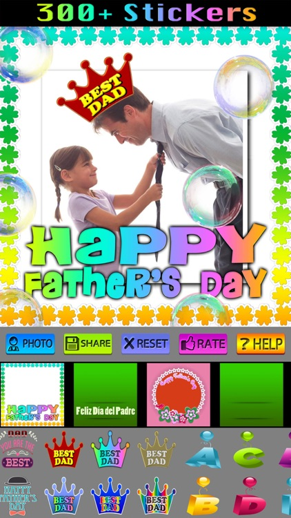 Happy Father's Day Frames screenshot-3