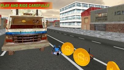 Bicycle In Traffic screenshot three
