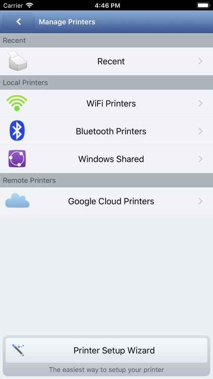 Printer 2 Go — Mobile Printing