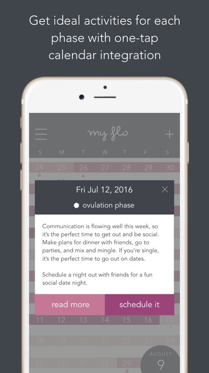 MyFLO Period Tracker screenshot-3