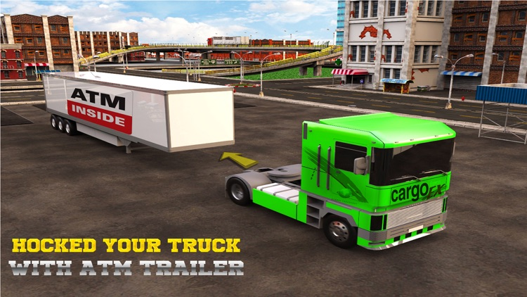 Atm Truck Driving Simulator 3D screenshot-2
