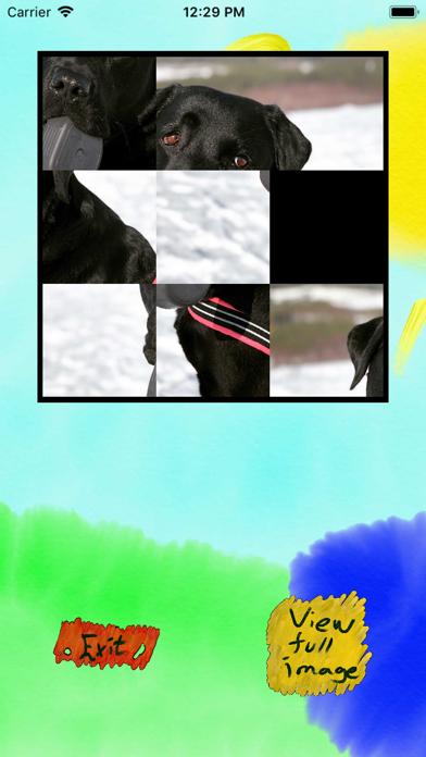 Labrador Sliding Puzzle screenshot one